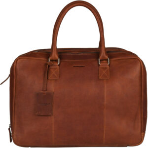 """Burkely Antique Avery Worker 15"""" Cognac"""