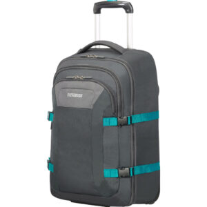 """American Tourister Road Quest 15.6"""" Grey/Turquoise"""