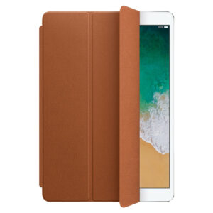 Apple Leren Smart Cover iPad (2020)/(2019), iPad Air (2019) en Pro 10.5 inch Zadelbruin