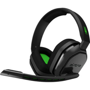 Astro A10 Gaming Headset voor PC, PS5, PS4, Xbox Series X|S, Xbox One – Zwart/Groen