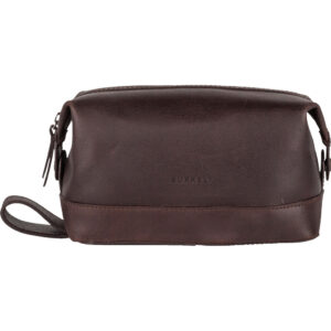 Burkely Vintage Riley Toiletry bag – Bruin