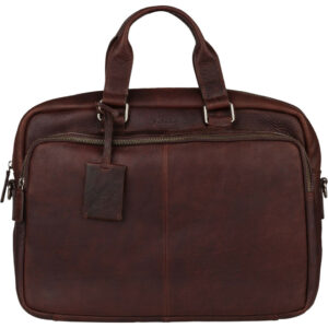 """Burkely Antique Avery Workbag 15"""" Brown"""