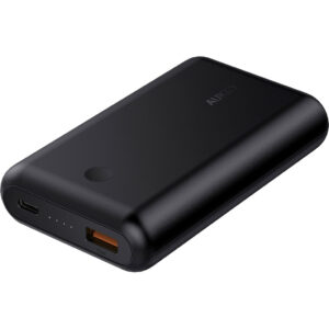 Aukey Powerbank 10.050 mAh Power Delivery + Quick Charge Zwart