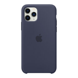 Apple iPhone 11 Pro Max Silicone Back Cover Middernachtblauw