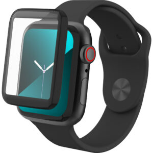 InvisibleShield Glass Fusion Apple Watch Series 5 44mm Screenprotector Plastic