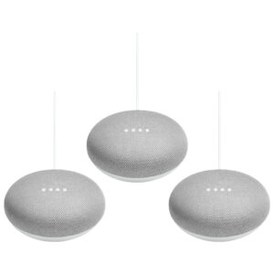 Google Nest Mini Wit 3-Pack