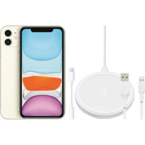 Apple iPhone 11 128 GB Wit + Accessoirepakket Uitgebreid