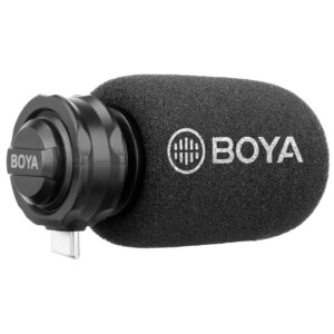 Boya BY-DM100 Cardioïde Video Microfoon voor usb C