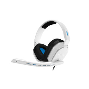 Astro A10 Gaming Headset voor PC, PS5, PS4, Xbox Series X|S, Xbox One – Wit/Blauw