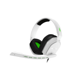 Astro A10 Gaming Headset voor PC, PS5, PS4, Xbox Series X|S, Xbox One – Wit/Groen