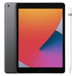 Apple iPad (2020) 10.2 inch 128 GB Wifi Space Gray + Pencil