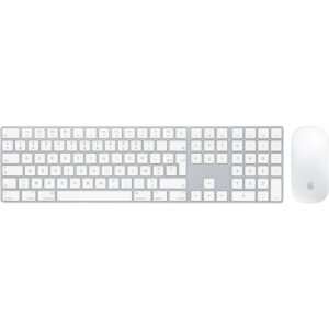 Apple Magic Keyboard met numeriek toetsenblok AZERTY + Apple Magic Mouse 2