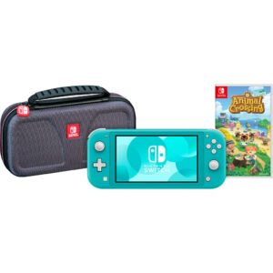 Game onderweg pakket – Nintendo Switch Lite Turquoise