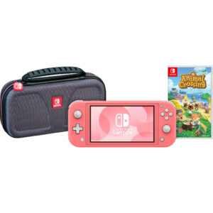 Game onderweg pakket – Nintendo Switch Lite Koraal