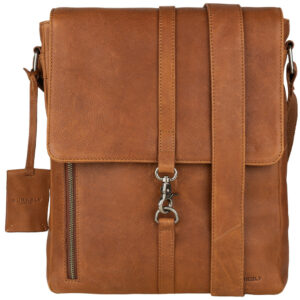 Burkely Antique Avery   Crossover M Messenger Lichtbruin