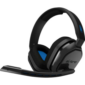 Astro A10 Gaming Headset voor PC, PS5, PS4, Xbox Series X|S, Xbox One – Zwart/Blauw