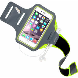 Mobiparts Comfort Fit Sportarmband Apple iPhone 6/6s Groen